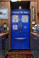 Our Police Box Fridge